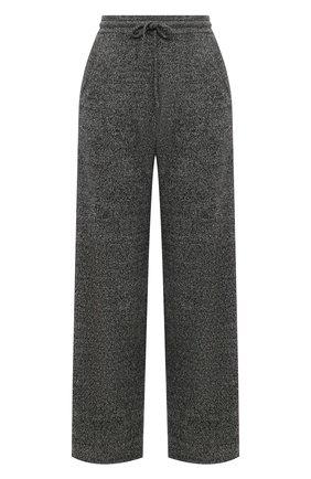 Женские кашемировые брюки ADDICTED серого цвета, арт. MK724 | Фото 1