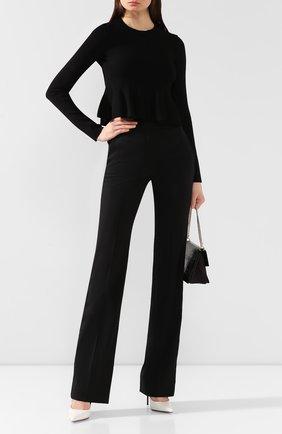 Женская пуловер из вискозы STELLA MCCARTNEY черного цвета, арт. 577390/S2076   Фото 2