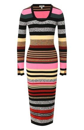 Женское платье KENZO разноцветного цвета, арт. F962R0402807 | Фото 1