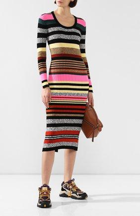 Женское платье KENZO разноцветного цвета, арт. F962R0402807 | Фото 2