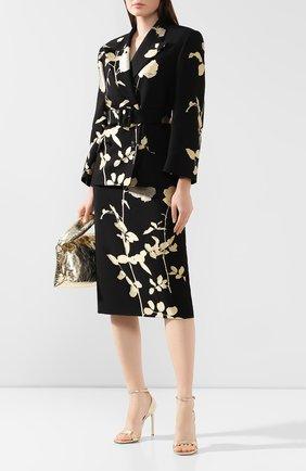 Женская юбка DRIES VAN NOTEN черного цвета, арт. 192-10852-8361 | Фото 2