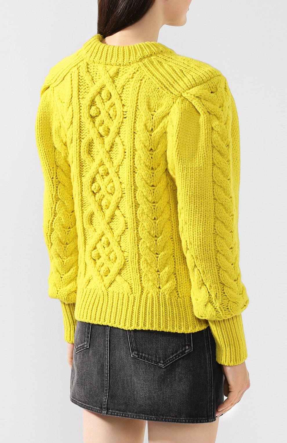 Шерстяной свитер | Фото №4