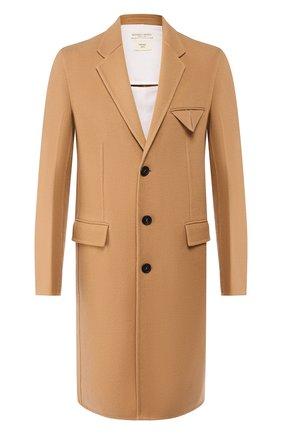 Мужской кашемировое пальто BOTTEGA VENETA бежевого цвета, арт. 584314/VF3W1 | Фото 1