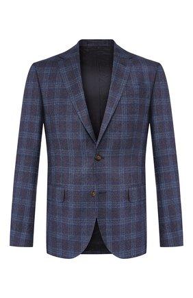 Мужской шерстяной пиджак SAND темно-синего цвета, арт. 6212 STAR NAP0LI | Фото 1