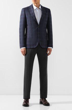 Мужской шерстяной пиджак SAND темно-синего цвета, арт. 6212 STAR NAP0LI | Фото 2