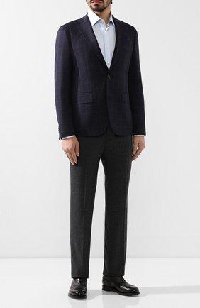 Мужской шерстяной пиджак SAND синего цвета, арт. 1651 STAR NAP0LI | Фото 2