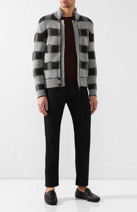 Мужские кожаные мокасины TOD'S черного цвета, арт. XXM0LR00041NLK | Фото 2