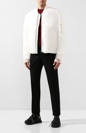 Мужские комбинированные кроссовки sorrento DOLCE & GABBANA черно-белого цвета, арт. CS1719/AA908 | Фото 2