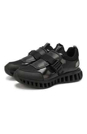 Комбинированные кроссовки Pitti A-Maze | Фото №1