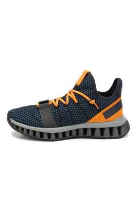 Мужские текстильные кроссовки techmerino a-maze Z ZEGNA синего цвета, арт. A4308X-LHTGS | Фото 3