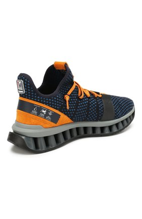Мужские текстильные кроссовки techmerino a-maze Z ZEGNA синего цвета, арт. A4308X-LHTGS | Фото 4
