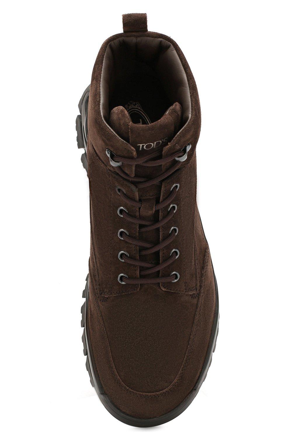 Замшевые ботинки   Фото №5