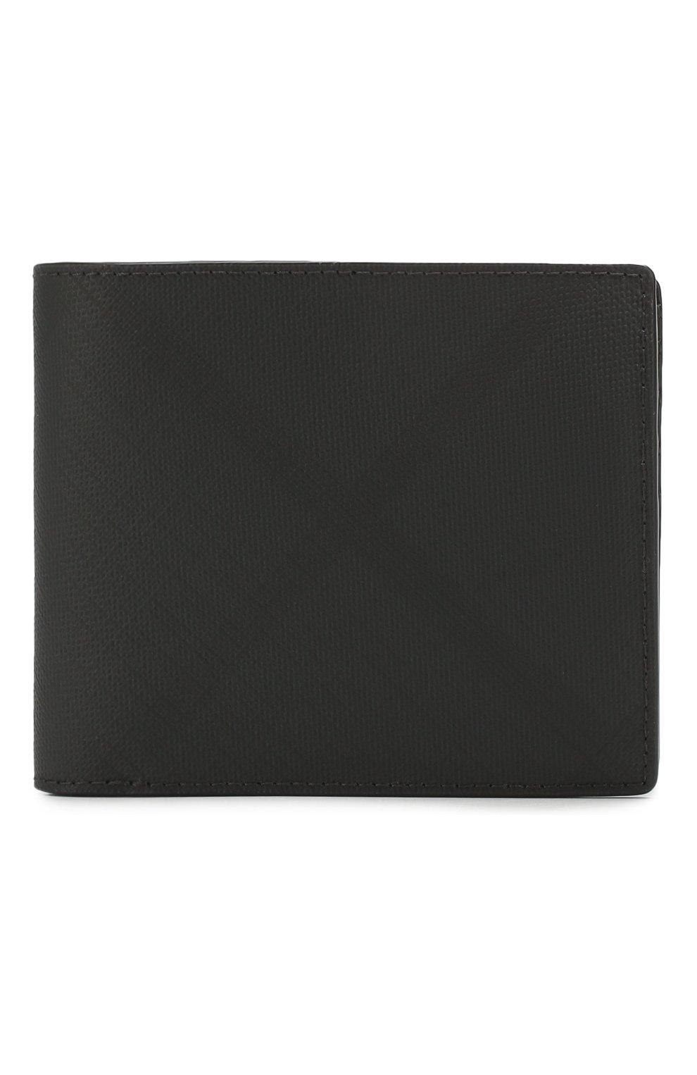 Мужской комплект из портмоне и футляра для кредитных карт BURBERRY темно-серого цвета, арт. 8014527   Фото 1