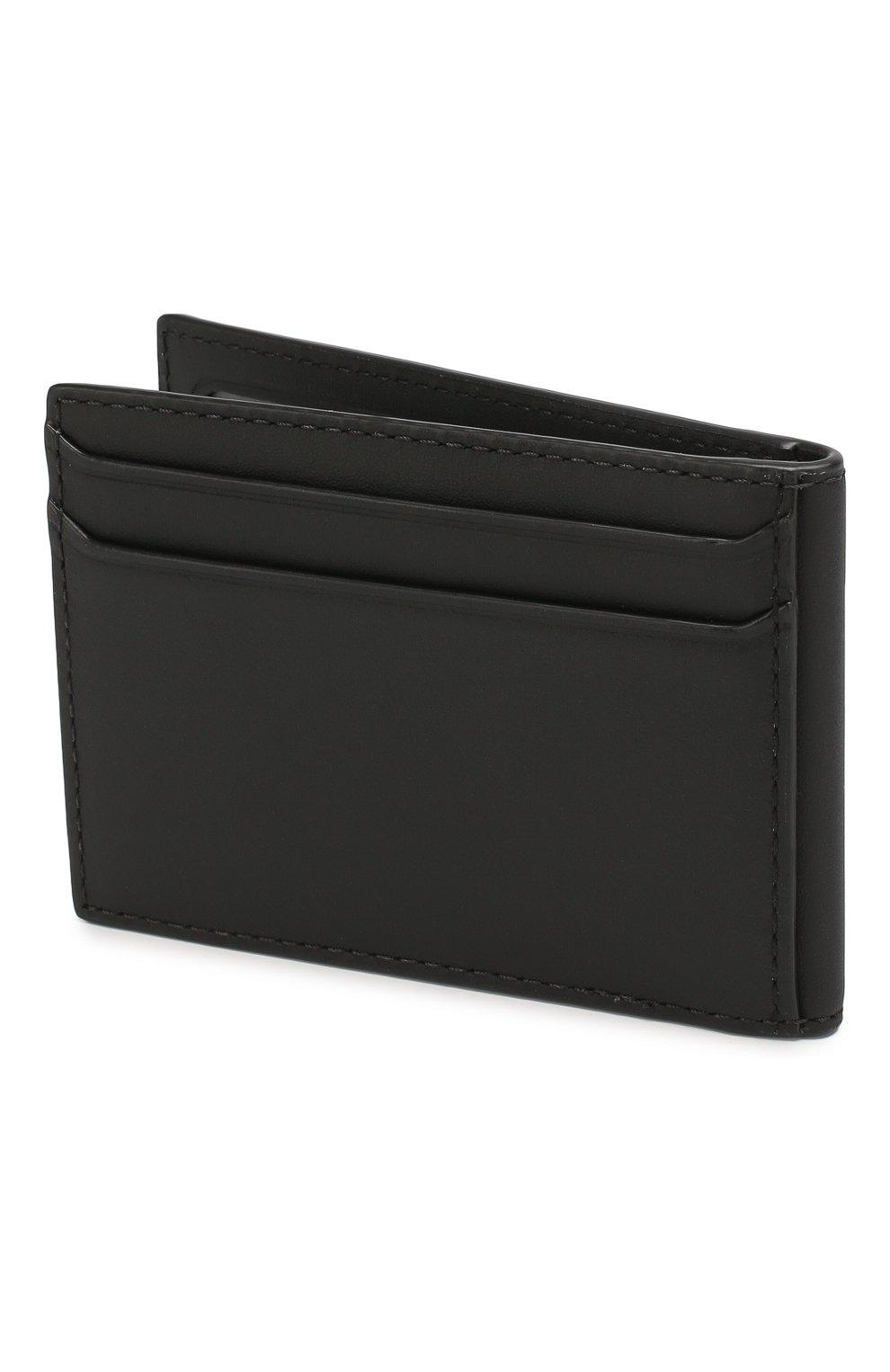 Мужской комплект из портмоне и футляра для кредитных карт BURBERRY темно-серого цвета, арт. 8014527   Фото 5