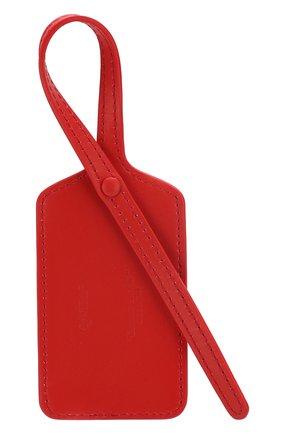 Женского багажная бирка OFF-WHITE красного цвета, арт. 0WZG016E194800772000 | Фото 2