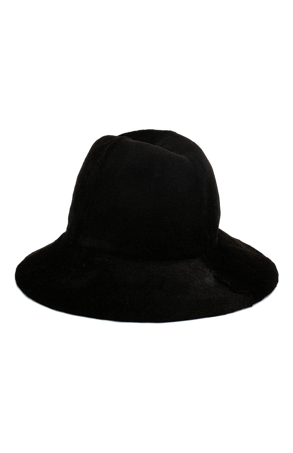 Женская шляпа из меха норки KUSSENKOVV черного цвета, арт. 151510002050 | Фото 1