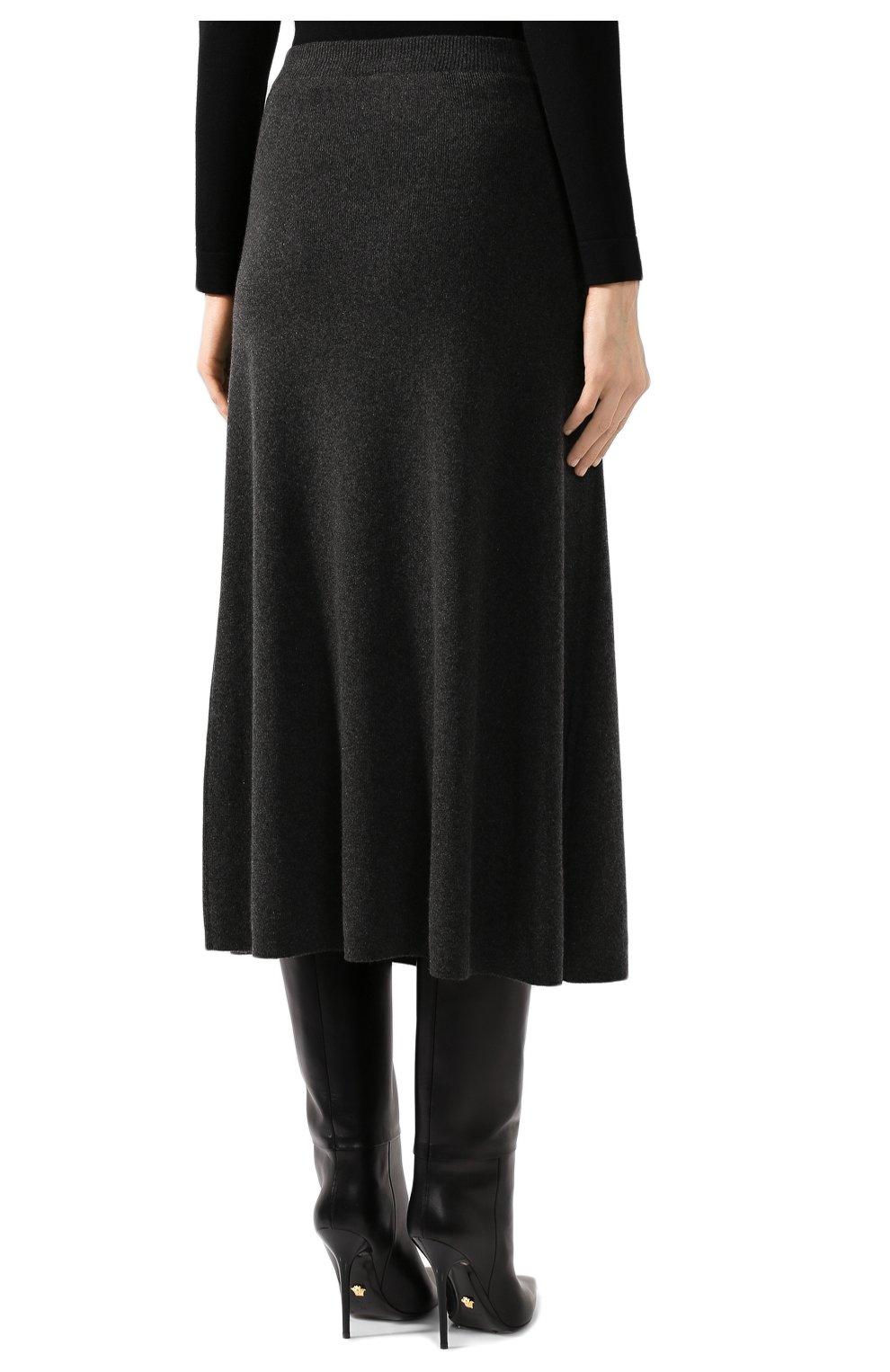 Кашемировая юбка | Фото №4