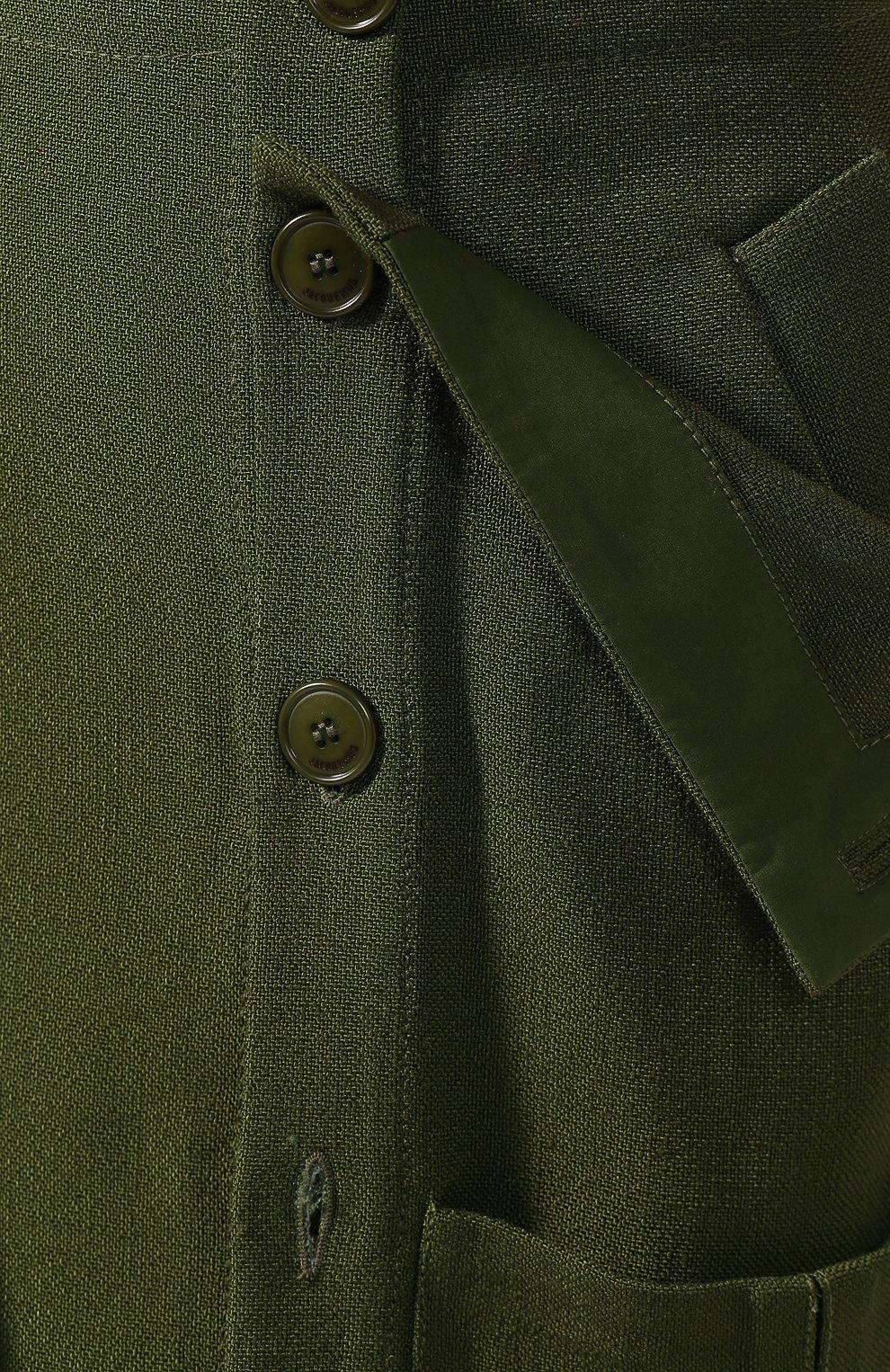 Женская юбка JACQUEMUS зеленого цвета, арт. 193SK03/26580 | Фото 5