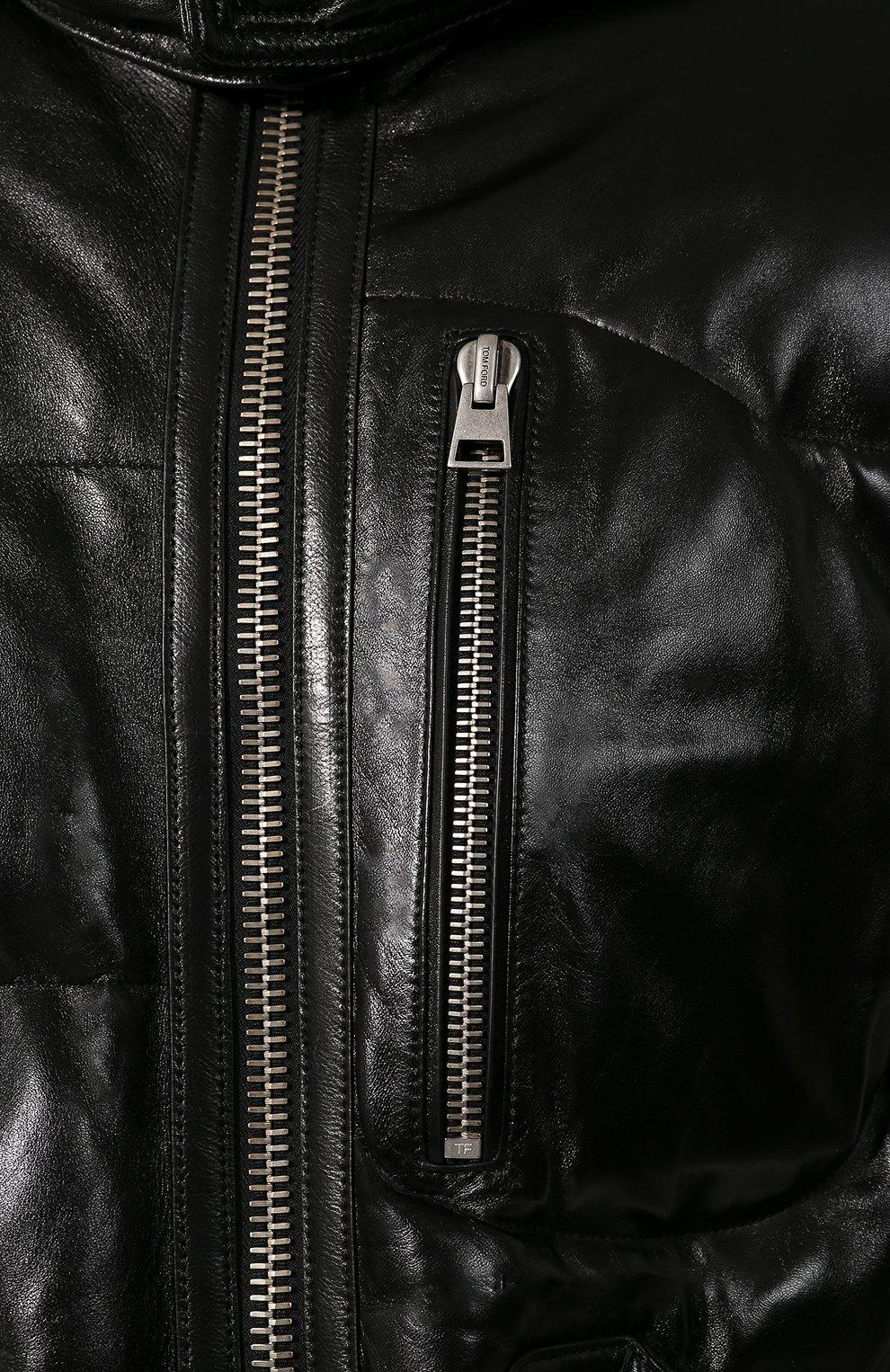 Пуховики мужские Зимние кожаные тки Vintage Leder