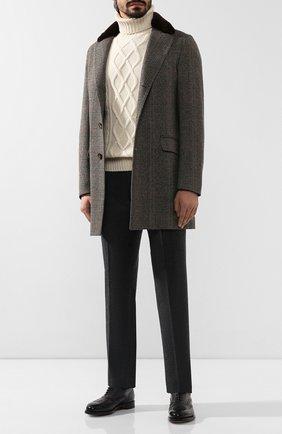 Мужской кашемировый свитер LORO PIANA кремвого цвета, арт. FAI8311 | Фото 2