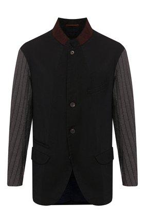 Пиджак из смеси шерсти и льна | Фото №1