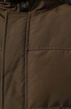 Мужская пуховая парка macmillan CANADA GOOSE хаки цвета, арт. 3804M   Фото 5