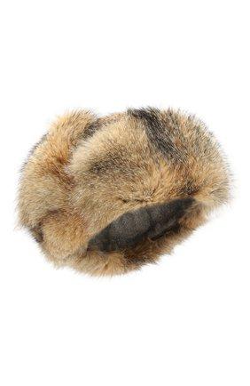 Кашемировая шапка-ушанка Alaskan с меховой отделкой | Фото №1
