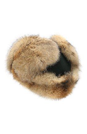 Кашемировая шапка-ушанка Alaskan с меховой отделкой | Фото №2