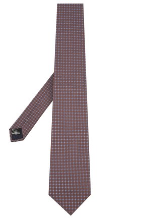 Мужской шелковый галстук PAL ZILERI коричневого цвета, арт. P300211----B2903 | Фото 2
