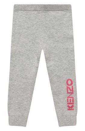 Детского комплект из пуловера и брюк KENZO серого цвета, арт. KP36013   Фото 4