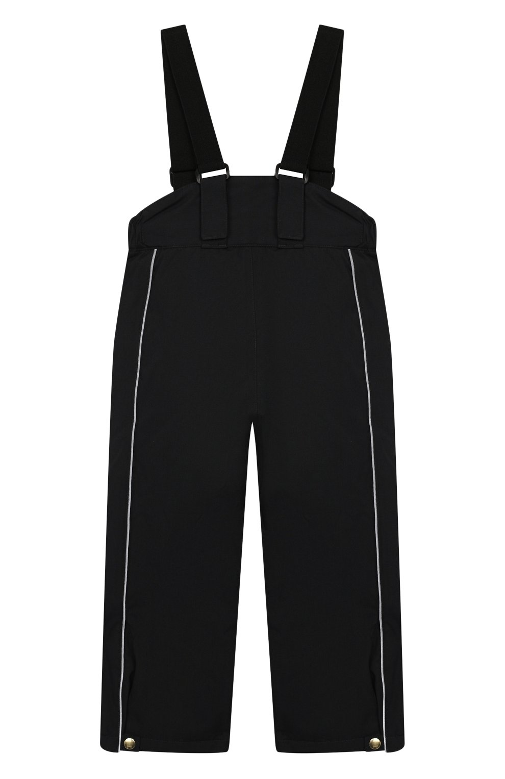 Детский утепленные брюки MINI RODINI черного цвета, арт. 19730101 | Фото 2
