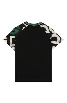 Детский хлопковая футболка DOLCE & GABBANA разноцветного цвета, арт. L1JTAR/G7TXC | Фото 2