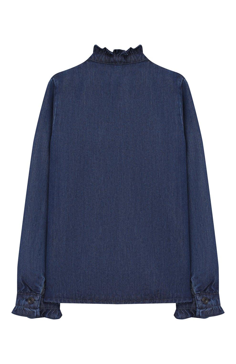 Джинсовая блузка | Фото №2