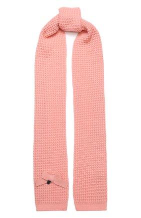 Детский шарф SIMONETTA розового цвета, арт. 1L0213/LE050 | Фото 1