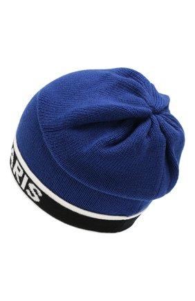 Детского шерстяная шапка BALMAIN синего цвета, арт. 6L0577/LC950 | Фото 2