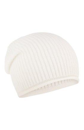Женский кашемировая шапка WOOLRICH белого цвета, арт. WWACC1451/UF0391 | Фото 1
