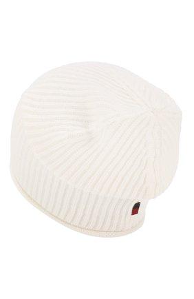 Женский кашемировая шапка WOOLRICH белого цвета, арт. WWACC1451/UF0391 | Фото 2