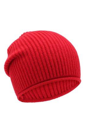Женский кашемировая шапка WOOLRICH красного цвета, арт. WWACC1451/UF0391 | Фото 1