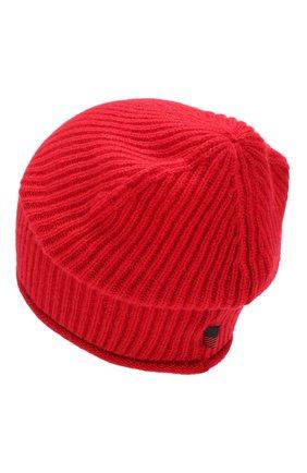 Женский кашемировая шапка WOOLRICH красного цвета, арт. WWACC1451/UF0391 | Фото 2