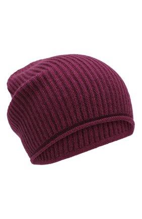 Женский кашемировая шапка WOOLRICH бордового цвета, арт. WWACC1451/UF0391 | Фото 1