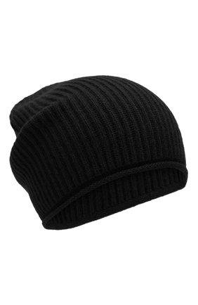 Женский кашемировая шапка WOOLRICH черного цвета, арт. WWACC1451/UF0391 | Фото 1