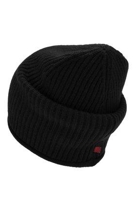 Женский кашемировая шапка WOOLRICH черного цвета, арт. WWACC1451/UF0391 | Фото 2
