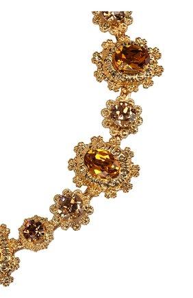Женское колье DOLCE & GABBANA золотого цвета, арт. WNL8S7/W1111 | Фото 2