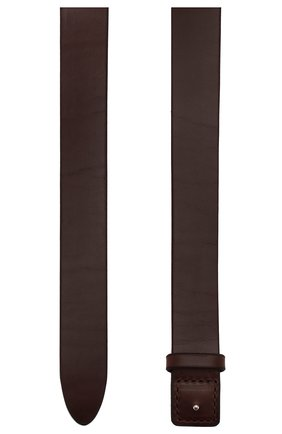Женский кожаный ремень HYKE коричневого цвета, арт. 19116 | Фото 2