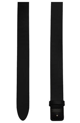 Женский кожаный ремень HYKE черного цвета, арт. 19116 | Фото 2