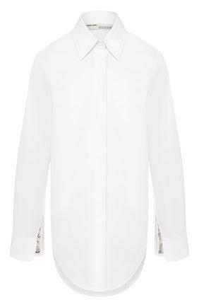 Женская хлопковая рубашка OFF-WHITE белого цвета, арт. 0WGA066F197440510199 | Фото 1