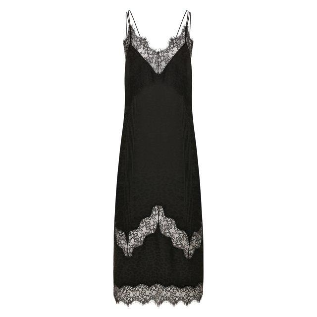 Платье из смеси вискозы и шелка Zadig&Voltaire