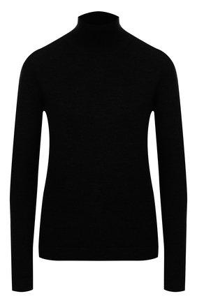 Женская шерстяная водолазка OSCAR DE LA RENTA черного цвета, арт. 19FN148TTL | Фото 1