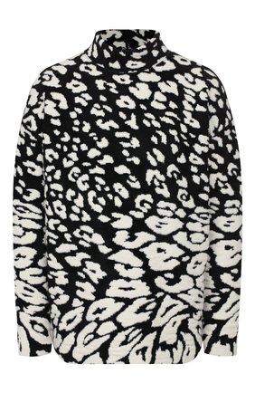 Женская пуловер OSCAR DE LA RENTA черно-белого цвета, арт. 19FN163CTA | Фото 1