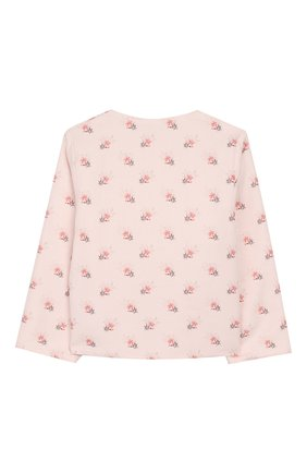 Детский хлопковый кардиган TARTINE ET CHOCOLAT светло-розового цвета, арт. TP40001/18M-3A | Фото 2